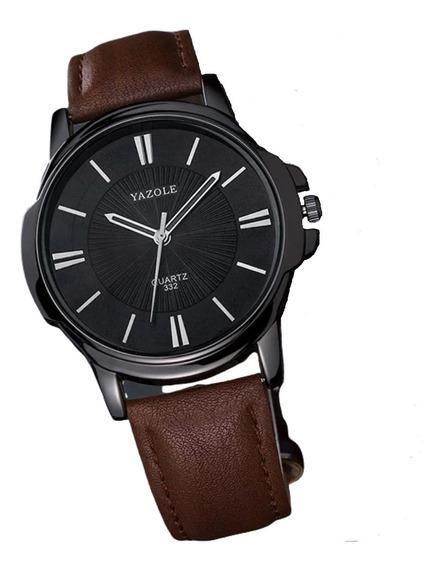 Relógio Masculino De Pulso Yazole® Original Classic Moderno