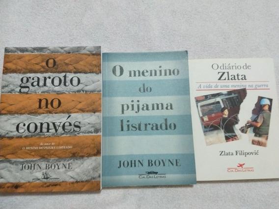 O Garoto No Convés/o Menino Do Pijama Listrado/o Diário