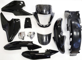 Kit Plasticos Honda Storm Sdh 125 Negro (7) Jrs