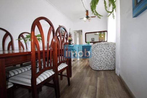Imagem 1 de 29 de Apartamento Com 3 Dormitórios À Venda, 115 M² Por R$ 470.000,00 - Ponta Da Praia - Santos/sp - Ap4336