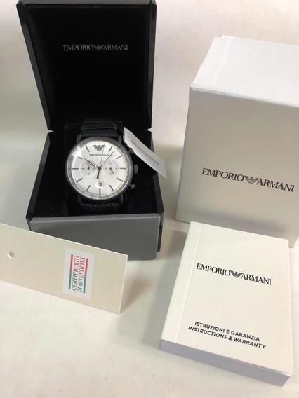 Relógio Emporio Armani Ar11202 Com Caixa E Garantia Ea Novo