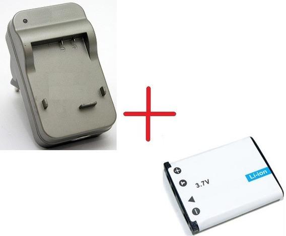 Carregador + Bateria P/ Olympus Tough X-890 Camera Digital