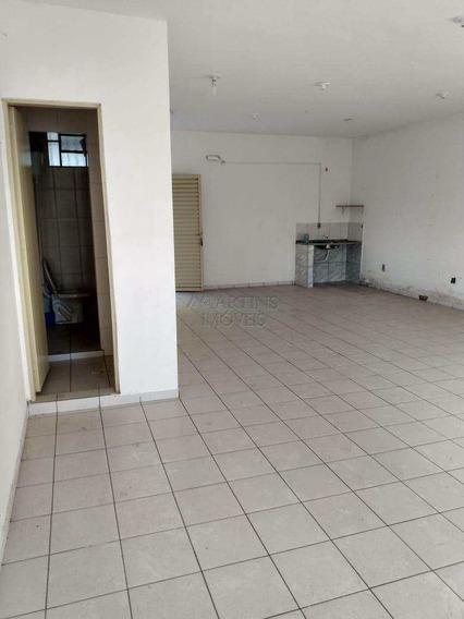 Centro | Salão Comercial 120 M²- Lavabo | 6749 - A6749