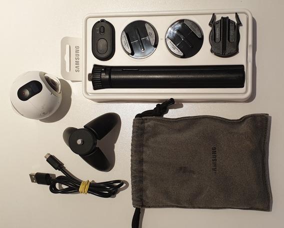 Samsung Gear 360º + Kit Esportes + Controle Remoto + 2 Tripé