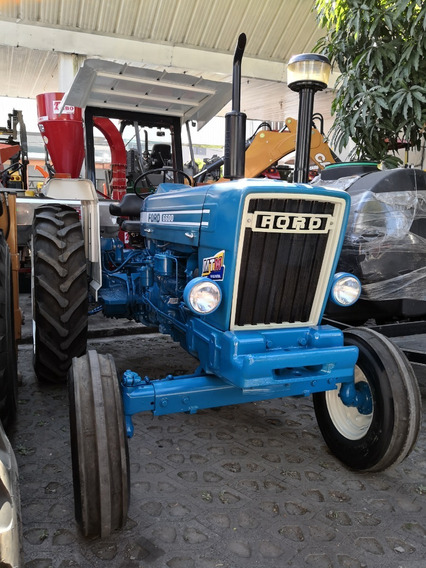 Tractor Agrícola Ford 6600 Año 92