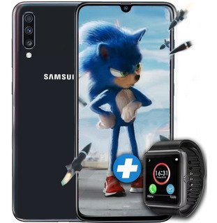 Samsung A70 128gb Rom 6gb Ram Triple Cámara 4g Lte + Smart