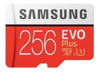 Cartão de memória Samsung MB-MC256GA/EU EVO Plus 256GB