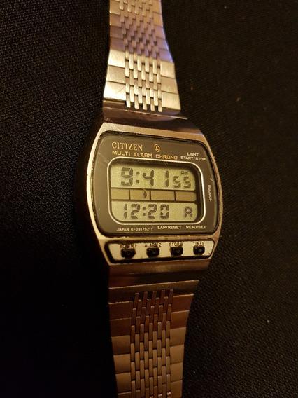 Reloj De Pulsera Vintage Citizen Multi Alarm.