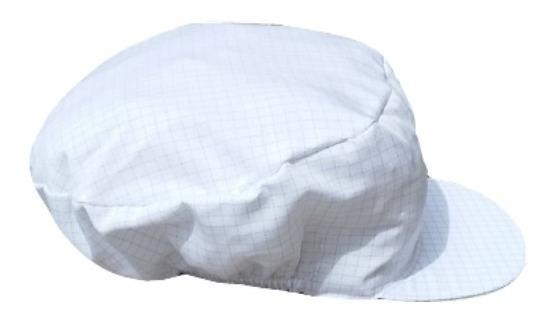 Gorra Antiéstatica Poliéster Algodón (5pz)