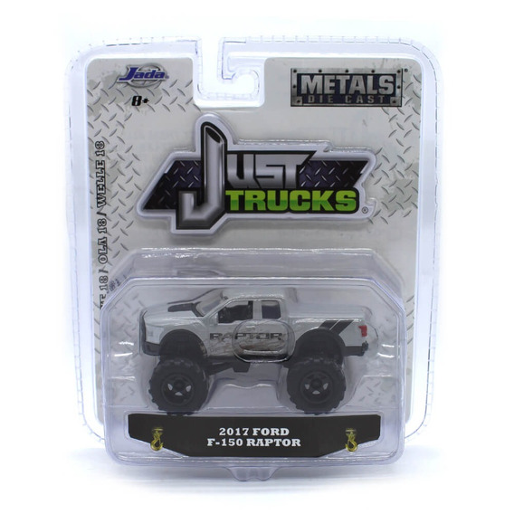 Ford F-150 Raptor 2017 1/64 Jada Toys Just Trucks Wave 18