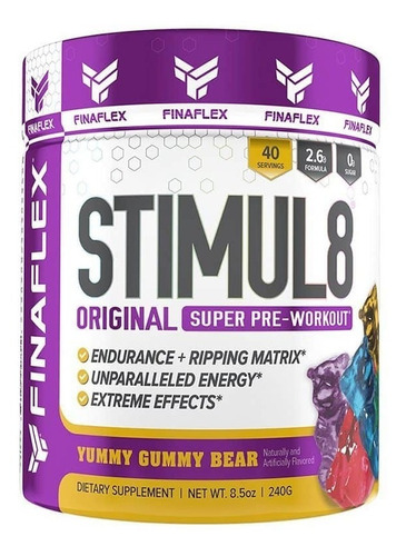 Stimul 8  Finaflex Pre Entreno + - Unidad a $94900