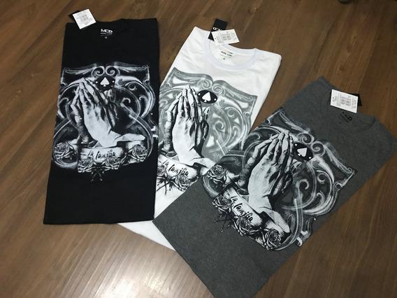Kit 10 Camisetas Oakley Algodao Gangster Quiksilver Lost