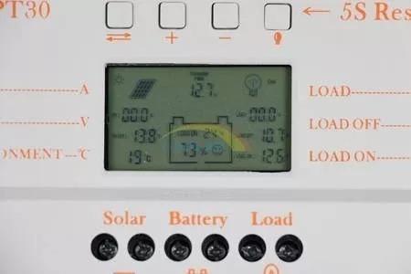 Controlador Carga Solar 30a Mppt Usb 12v 24v Rápido Envio