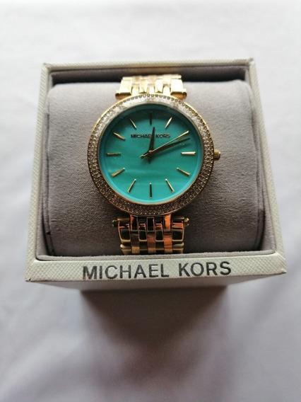 Reloj Michael Kors Mujer Original 3498 Dorado