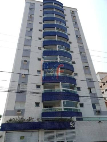 Imagem 1 de 30 de Ref: 10.644 - Belo Apartamento No Bairro Guilhermina - Praia Grande, Ha 600 Metros Da Praia, Contém 1 Dorm, Banheiro, 1 Vaga, 54 M² Útil. - 10644