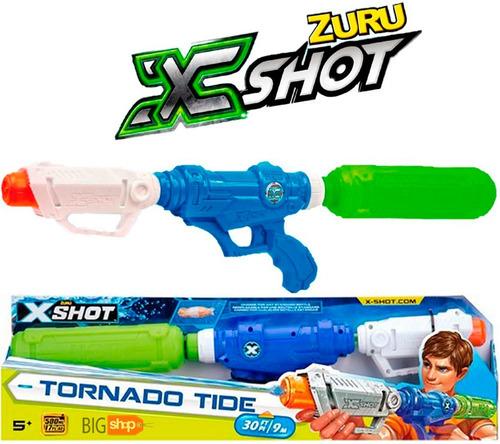 Imagen 1 de 8 de X-shot Pistola De Agua Tornado Tide 9m New Tv 01233 Bigshop