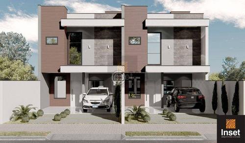 Imagem 1 de 3 de Sobrado Com 3 Dormitórios À Venda, 119 M² Por R$ 495.000,00 - Jardim Ipê 4 - Foz Do Iguaçu/pr - So0162
