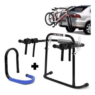 Transbike Transportador De Bicicleta Porta-malas + Brinde