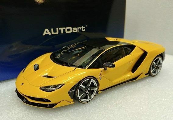 Lamborghini Centenario 1/18 - Autoart - Amarillo