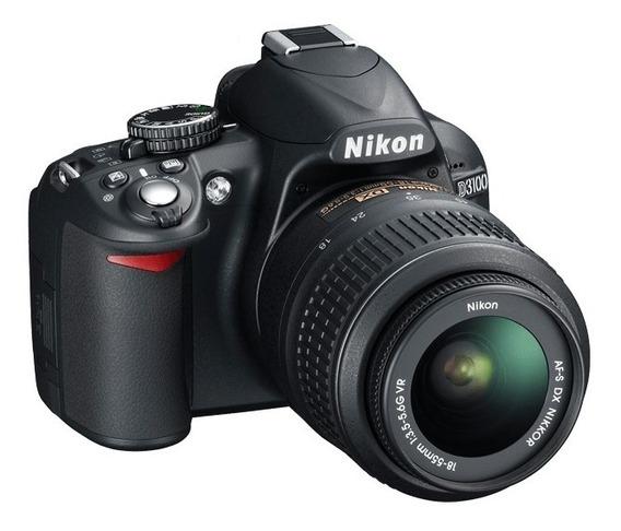 Camara Nikon D3100 Lente Bateria Caja Nueva Factura Garantia