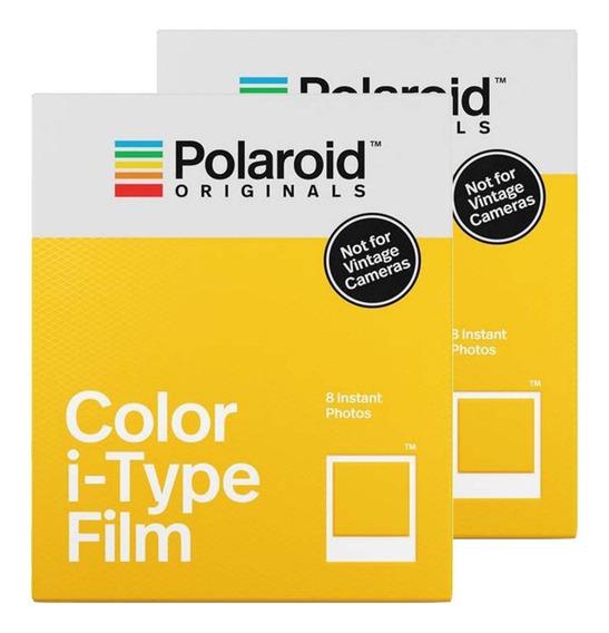 2x Filme Polaroid Originals I - Type Double Pack