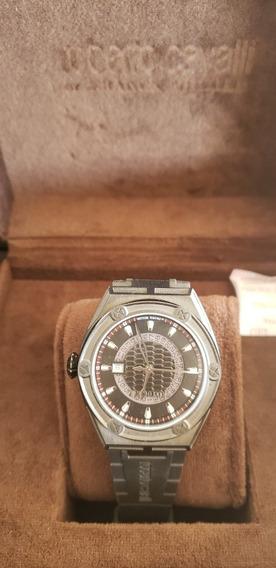 Reloj Roberto Cavalli, Suizo Original, Nuevo En Su Estuche.