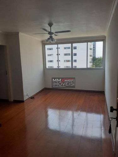 Imagem 1 de 12 de Apartamento Com 2 Dormitórios Para Alugar, 73 M² Por R$ 2.500,00/mês - Santana (zona Norte) - São Paulo/sp - Ap1065