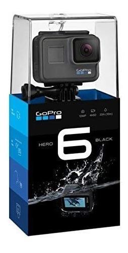 Gopro Hero 6 Black Prueba D Agua, 4k, Foto 12mp Estabilizado