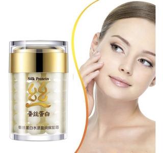 Crema Facial Proteina Seda Anti Arrugas Hidratante 60gr Full