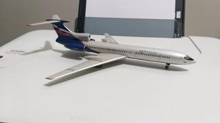 Maquete De Tu-154 Da Aeroflot Em Escala 1/200 Jc Wings