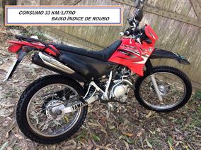 Yamaha Xtz 125 K 2006 Com 23.500km 33km/litro