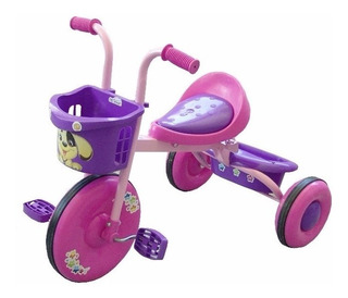 Triciclo Bambino Para Niña Montable Cochecito 394trbar01