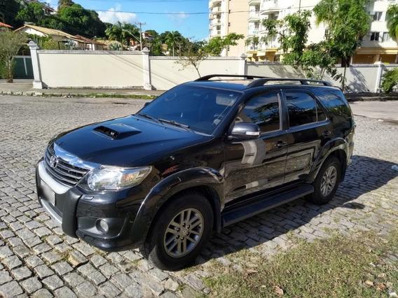 Toyota Hilux 2015 Sw4 -srv 3.0 Td 4x4 Autom. + Couro E Mídia