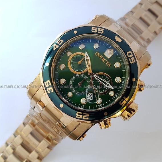 Relógio Invicta Pro Diver Troca Pulseiras 23653 Cronógrafo