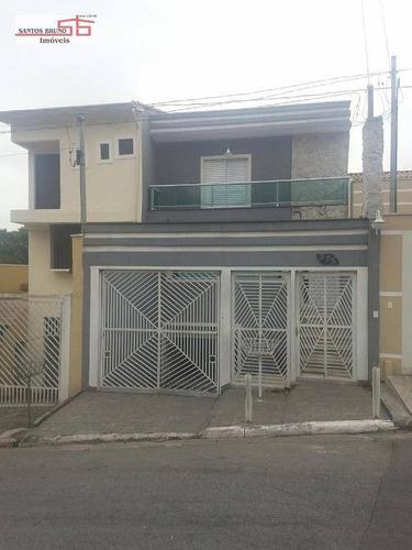Imagem 1 de 20 de Sobrado Com 3 Dormitórios À Venda, 220 M² Por R$ 740.000,00 - Pirituba - São Paulo/sp - So1253