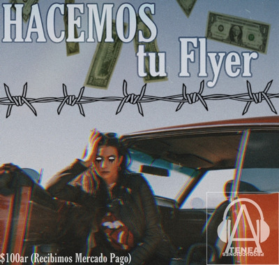 Flyer/ Arte Para Canciones / Spotify Etc.