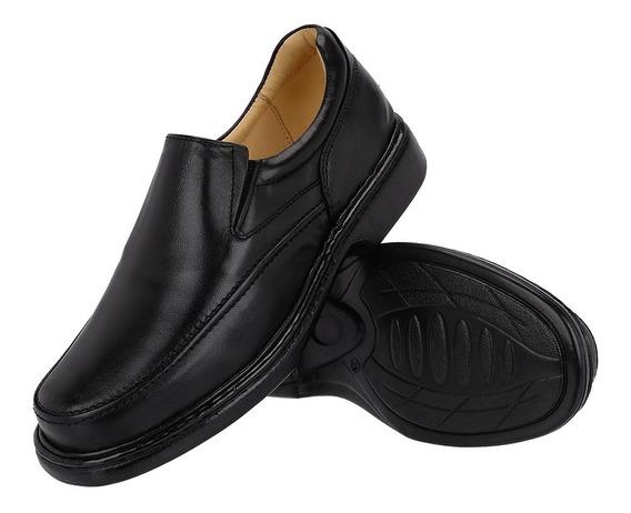 Sapato Anti-stress Conforto 100% Em Couro Galway 2001.