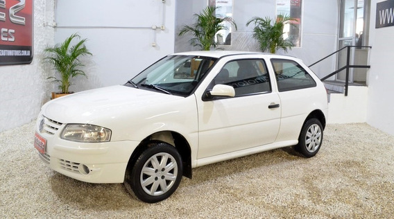 Volkswagen Gol 1.4l Blanco 2012 Nafta En Muy Buen Estado!!