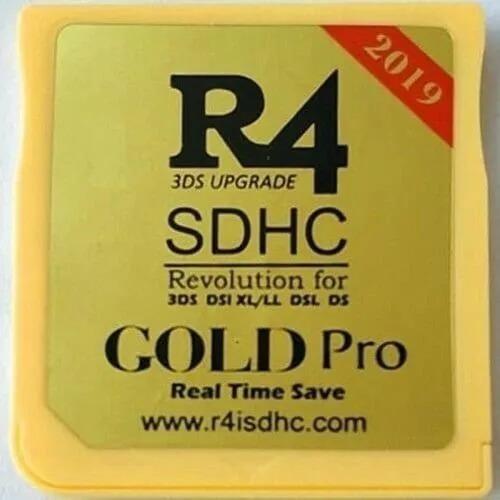 R4 Gold Pro 2019 + Micro + Sd 32gb Sandisk Com 5900 Jogos