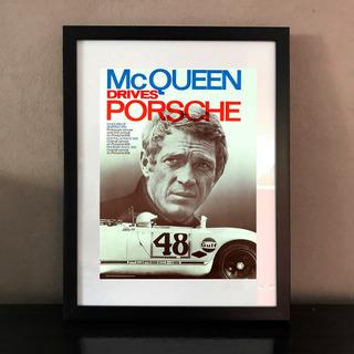 Cuadros Avisos Clásicos De Porsche De Los 60/70