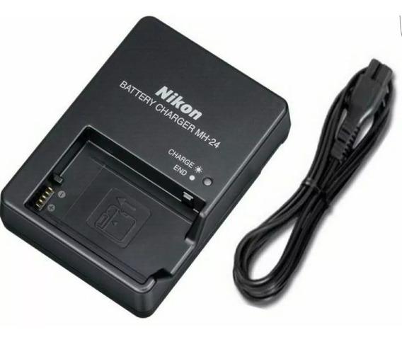 Carregador Mh-24 Nikon En-el14 D5100 D3100 D3200 P7000 P7100
