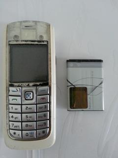 Celular Nokia 6020 Desbloqueado + Fone Ouvido Origin - Usado