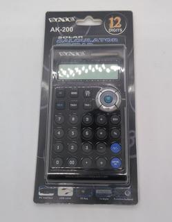 Teclado Númerico Calculadora Solar Satellite Ak-200