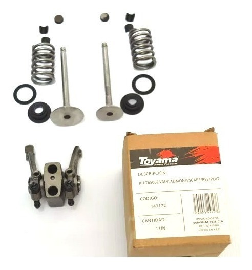 Kit T6500e Valv. Admon/escape/res/plat- Generador A Gasolina