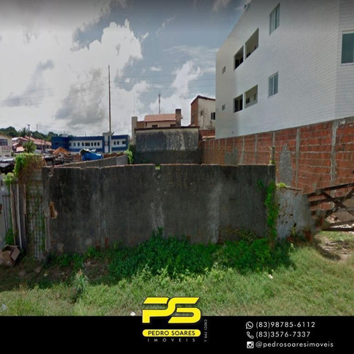 Imagem 1 de 2 de Terreno À Venda, 390 M² Por R$ 250.000 - Bessa - João Pessoa/pb - Te0128