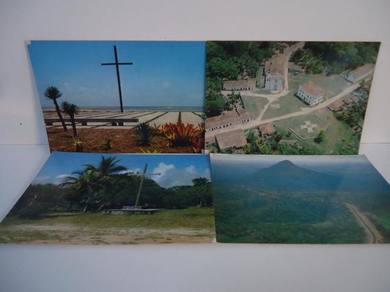Lote - Porto Seguro (bahia) 4 Cartões Postais