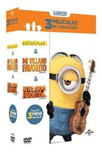 Mi Villano Favorito 1 & 2 / Minions (3 Dvd)