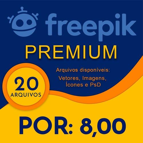 20 Freepik Premium (imagens, Fotos, Vetores, Icones E Psd)