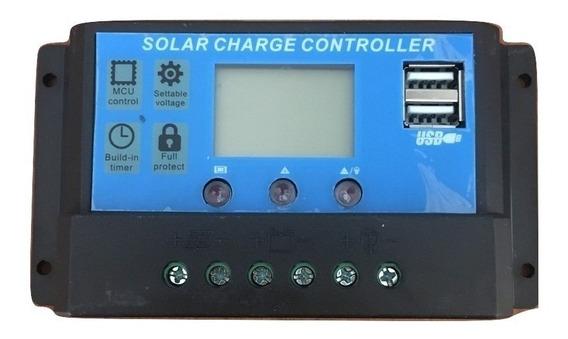 Regulador De Carga Solar Rbl 12/24v-30a
