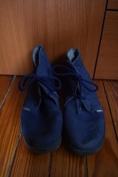 Botinetas Toot Azules